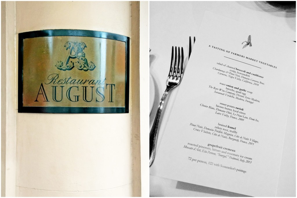 Restaurant August Review