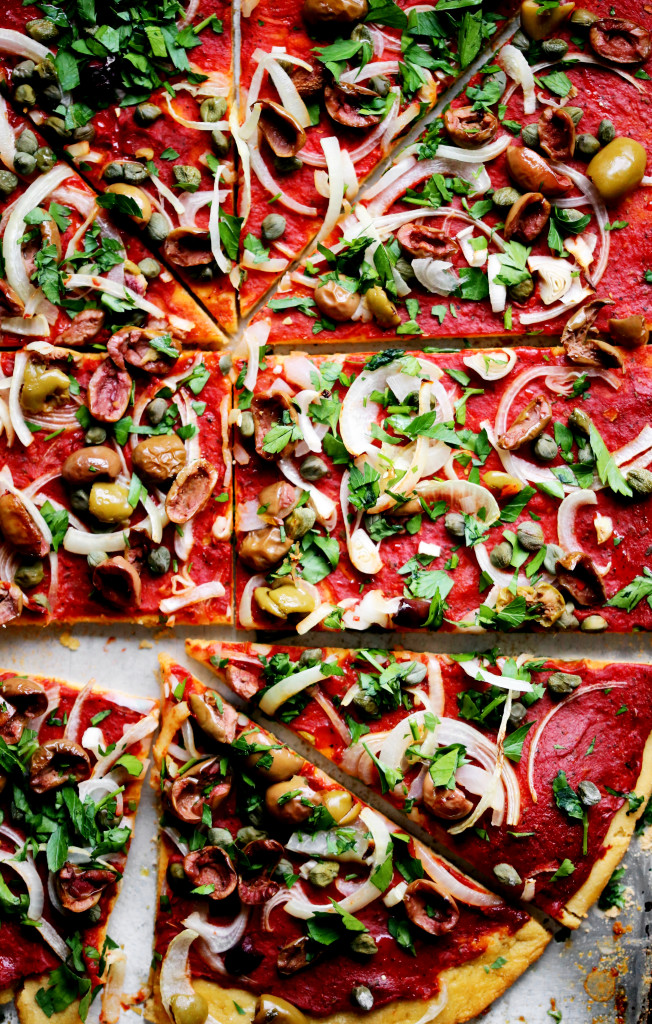 Gluten Free Vegan Pizza Recipe