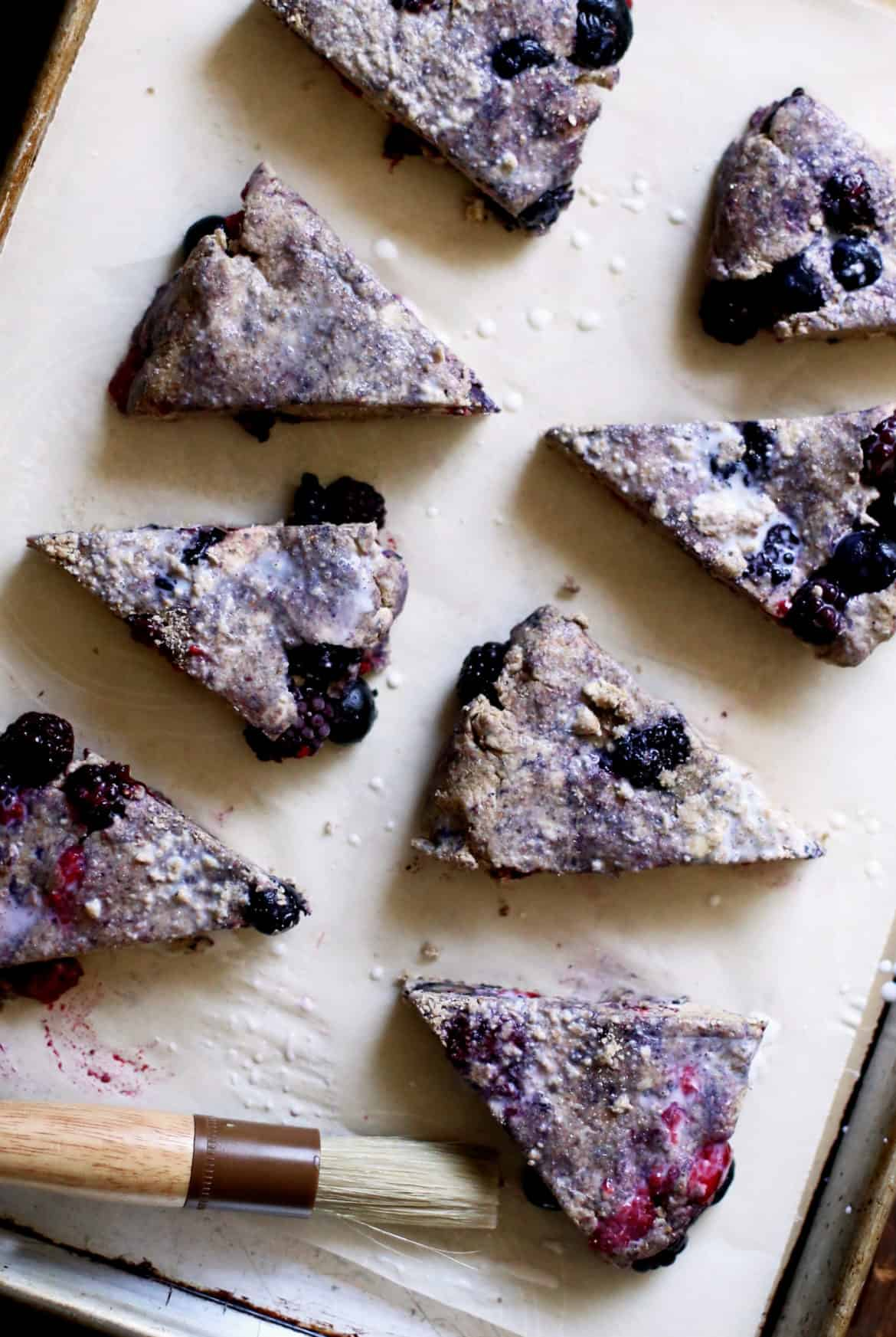 Whole Grain Berry Scones With Spelt And Rye Recipe