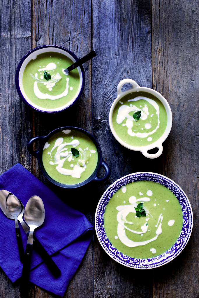 Vegan Cream of Broccoli Soup with Lemon Recipe