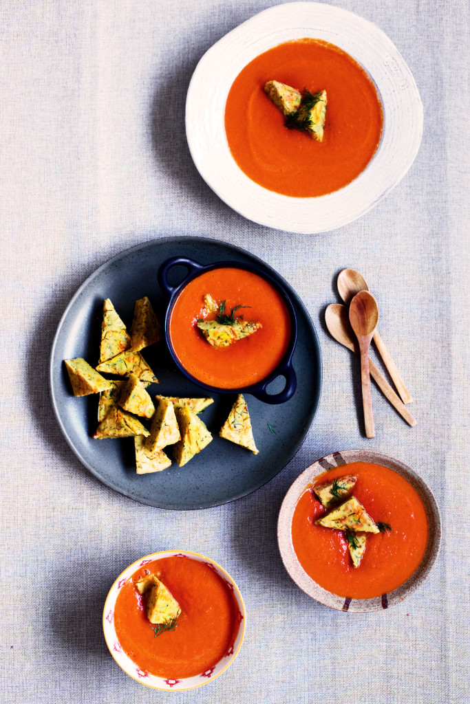 homemade cream of tomato soup with cheese copy