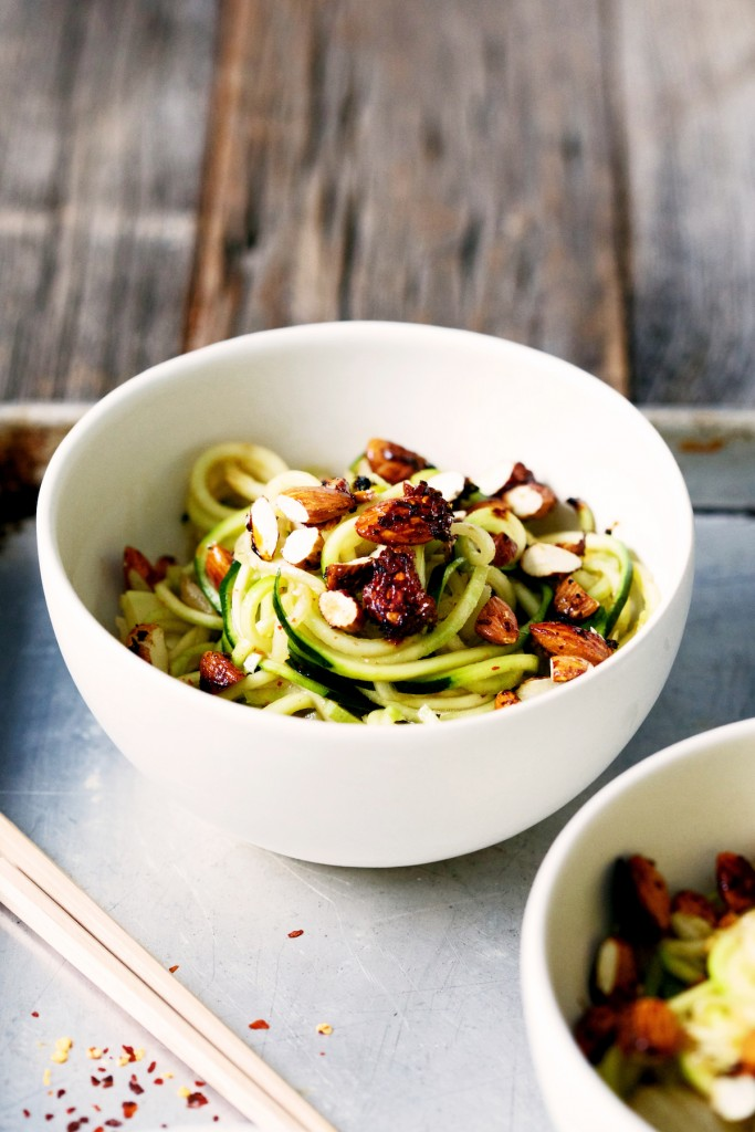 Zucchini Noodle recipe vegan healthy copy