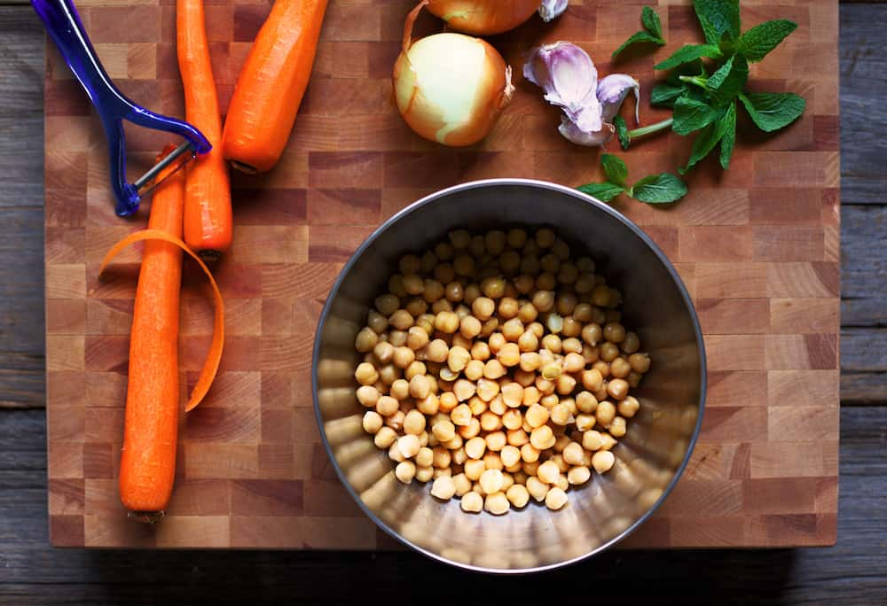 Chickpea Soup Recipe Ingredients copy