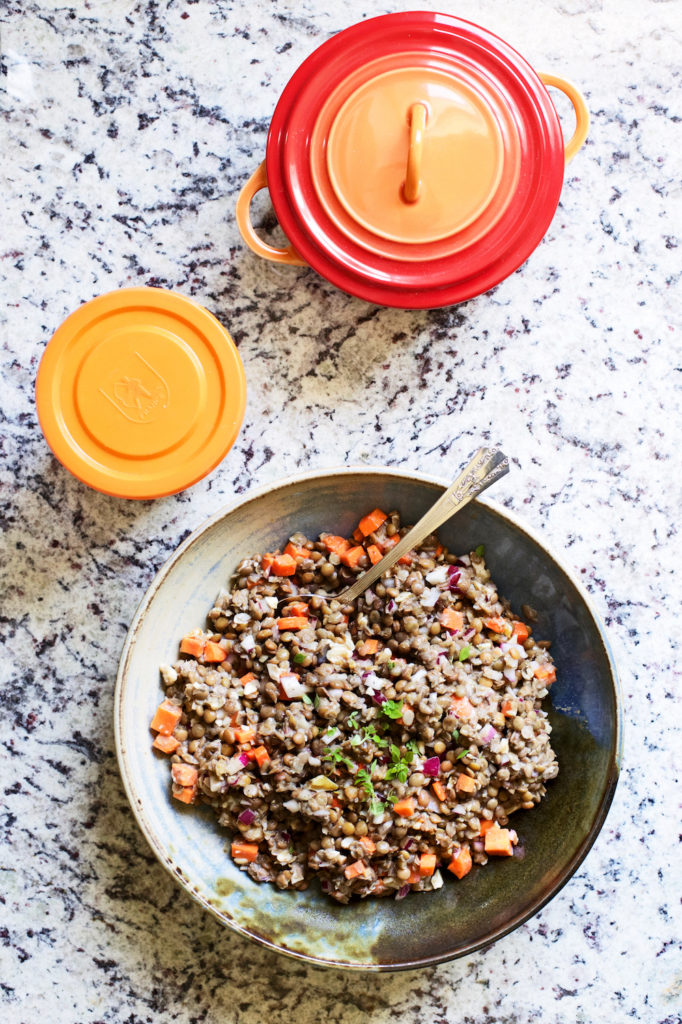 Classic French Lentil Salad Recipe