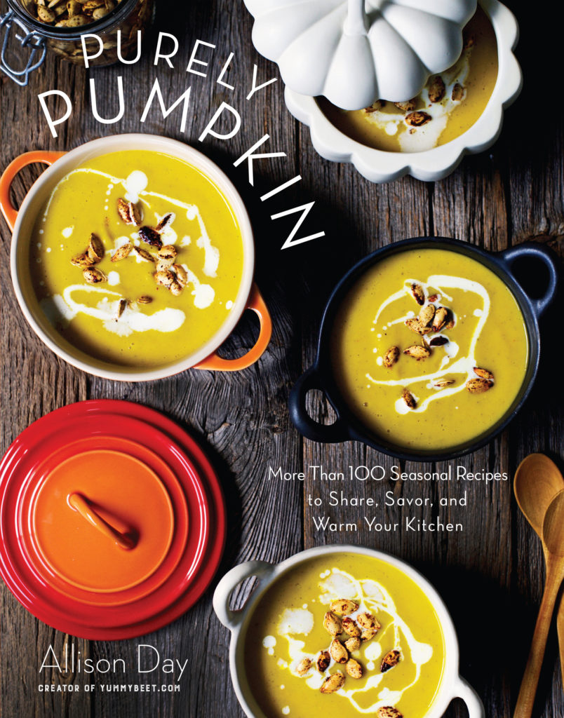 Purely Pumpkin Cookbook by Allison Day - The Ultimate Holiday Cookbook for Pumpkin Lovers!