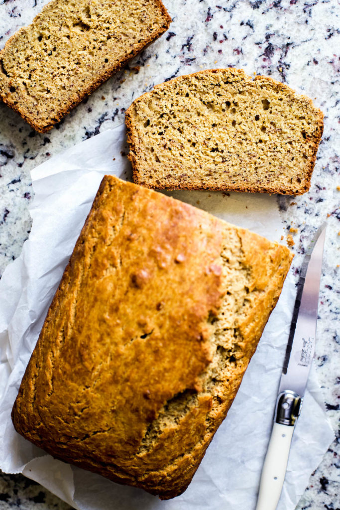 Healthy one bowl banana bread recipe healthy one bowl whole wheat banana bread forumfinder Image collections