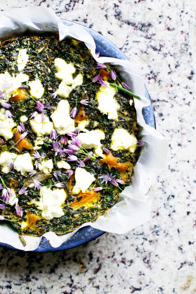 Vegetable frittata recipe copy