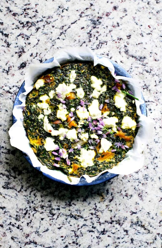 healthy frittata recipe copy