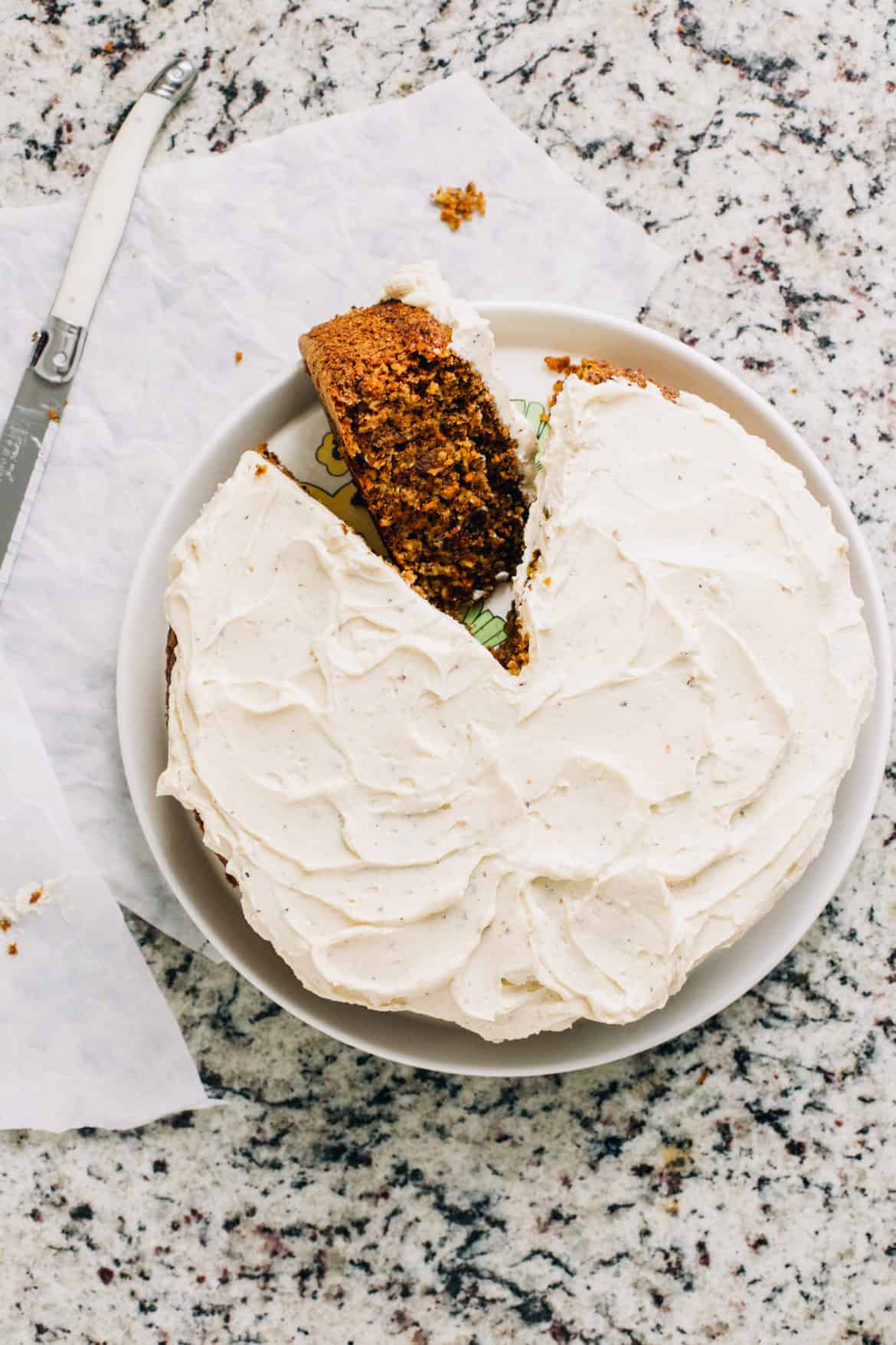 Magic Food Processor Carrot Cake