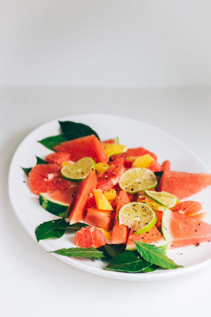 Winter Citrus Watermelon Salad