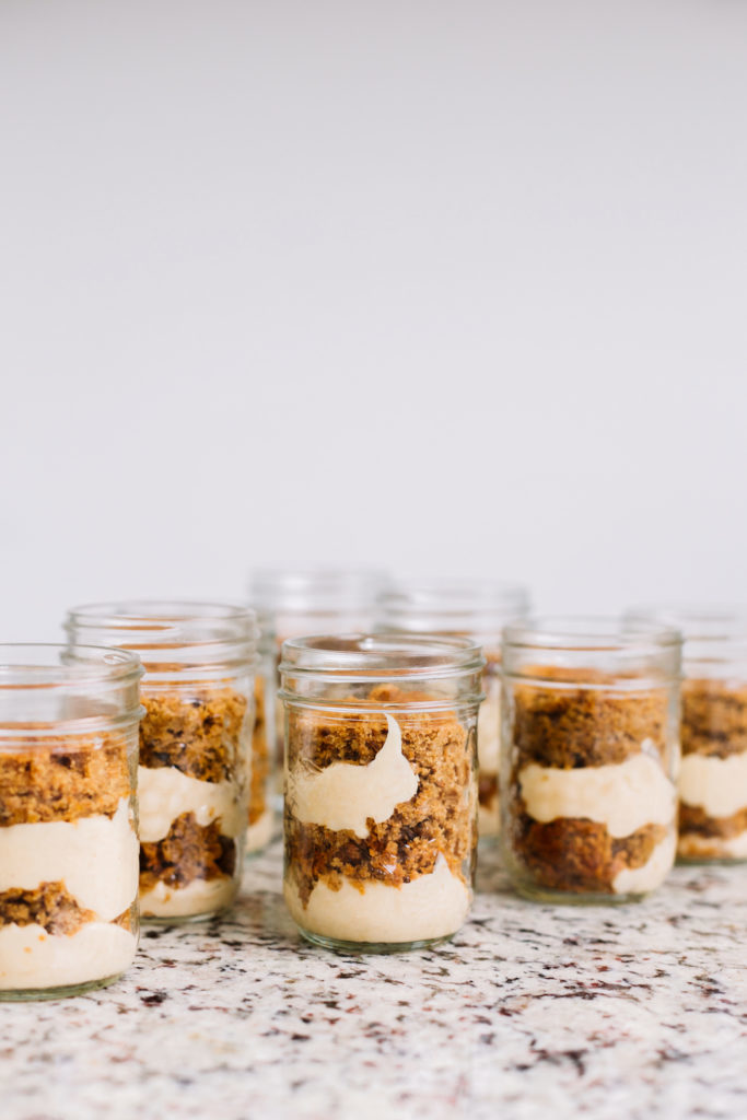 Ginger Cake Trifle with Apple Cinnamon Cream