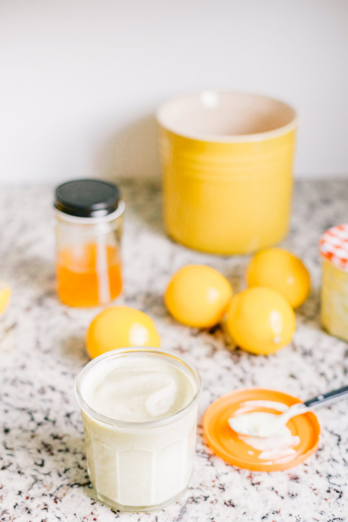 Honey Lemon Curd Recipe