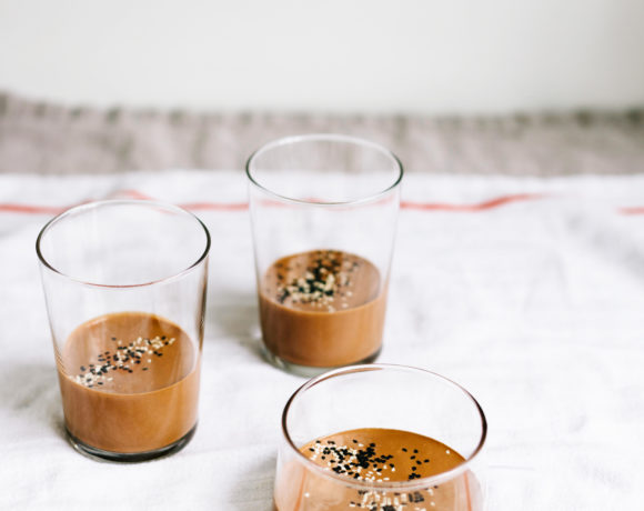 Coconut Milk Tahini Chocolate Pots + Whole Bowls GIVEAWAY!