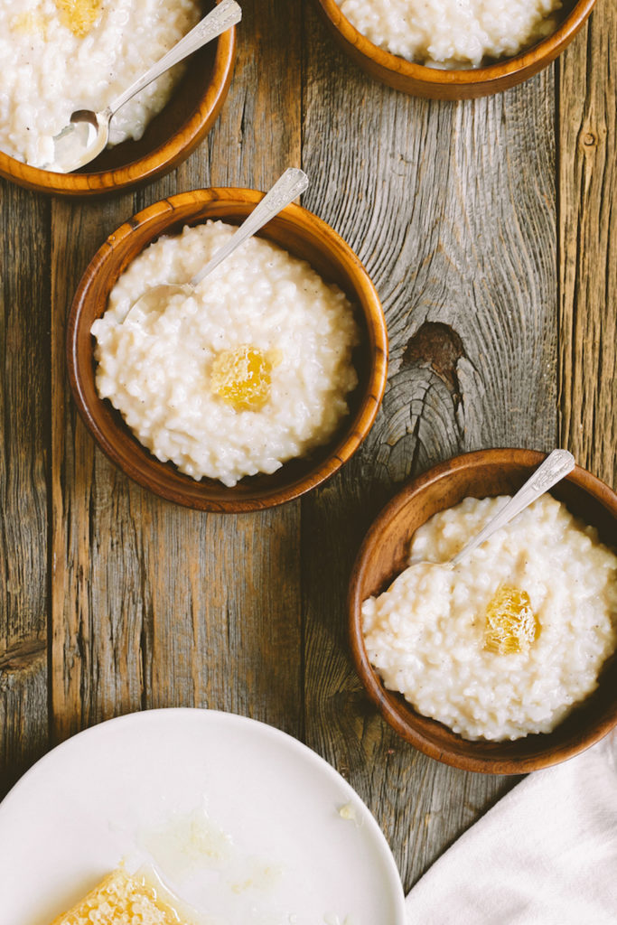 Toasted Coconut Milk Rice Pudding Congee Recipe