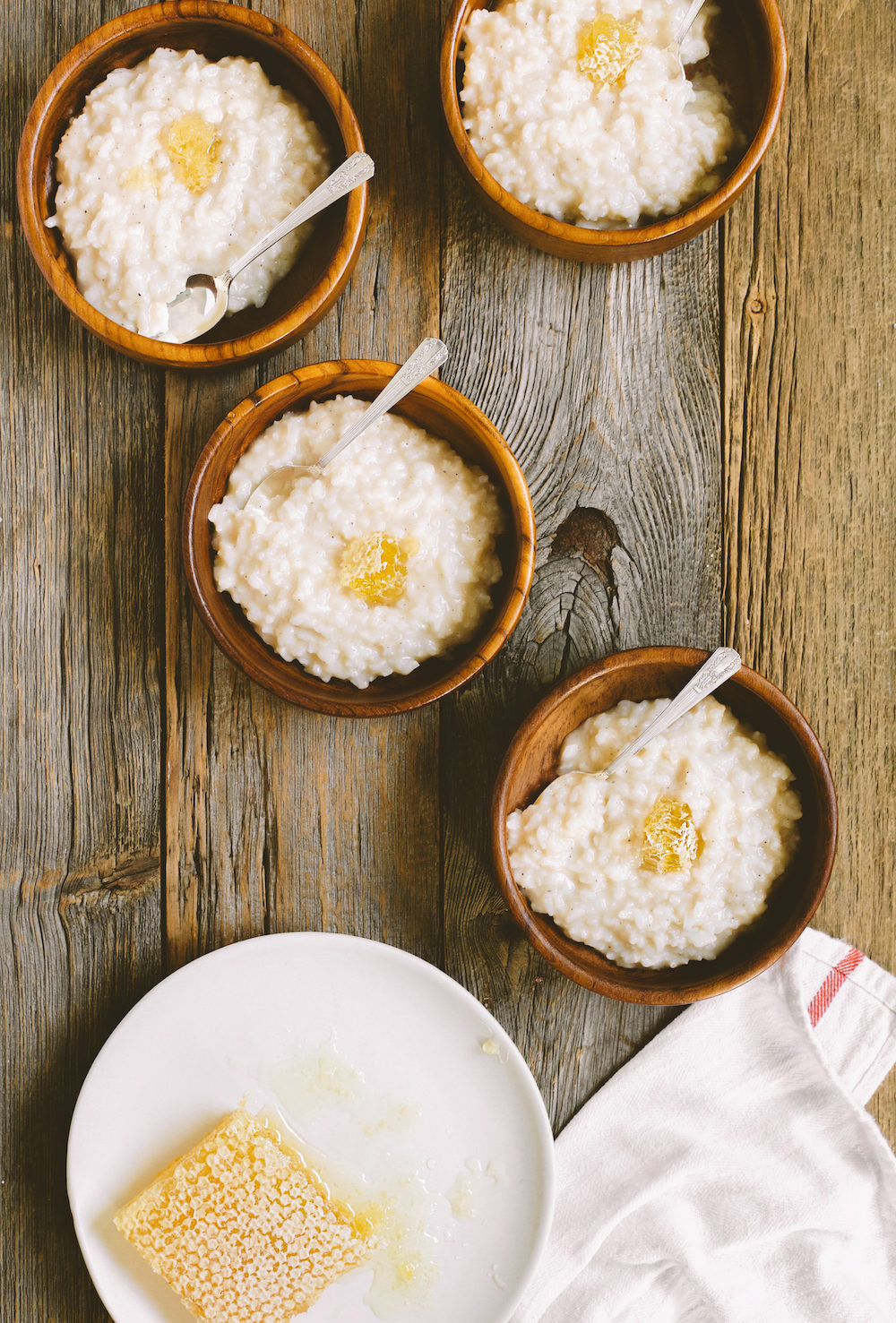 Toasted Coconut Milk Rice Pudding Congee