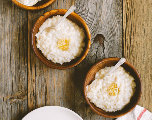 Sweet Toasted Coconut Milk Congee