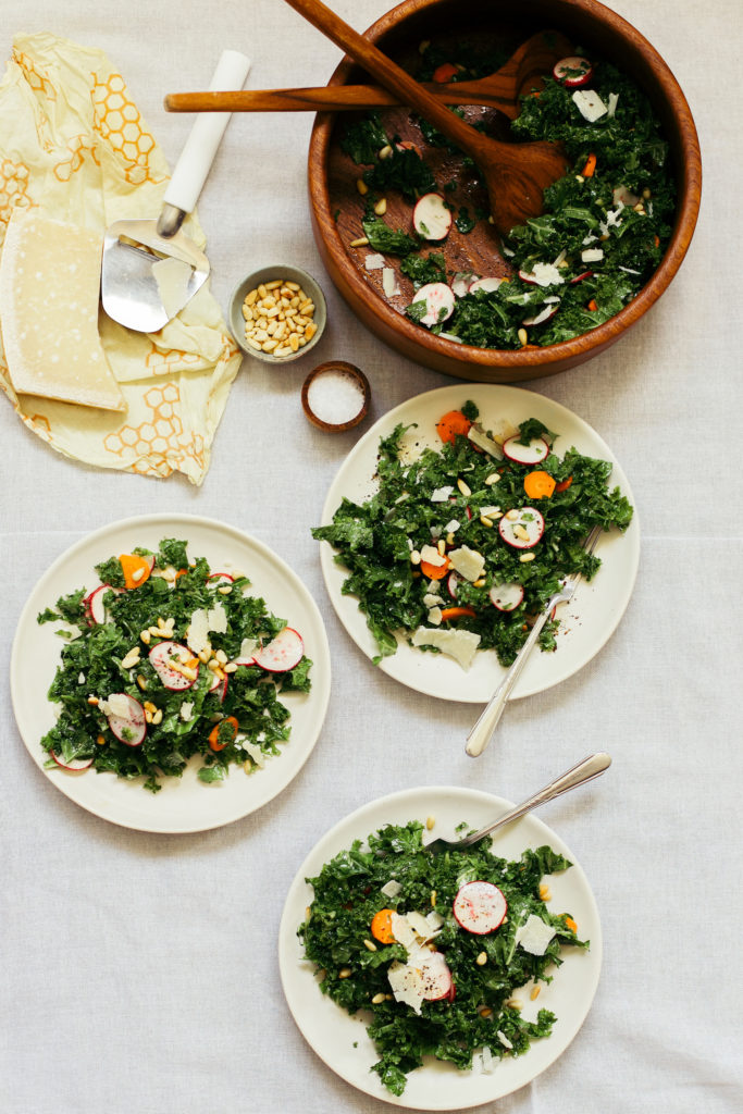 Kale Salad Kombucha Dressing Recipe