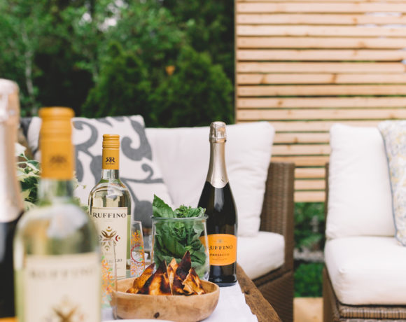 Grilled Vegetables with Whipped Feta & Pita + A Wine Pairing