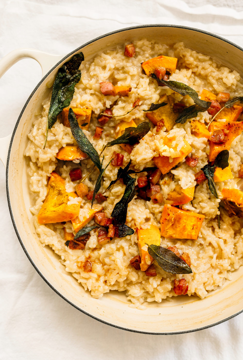 Oven-Baked Squash Risotto Recipes