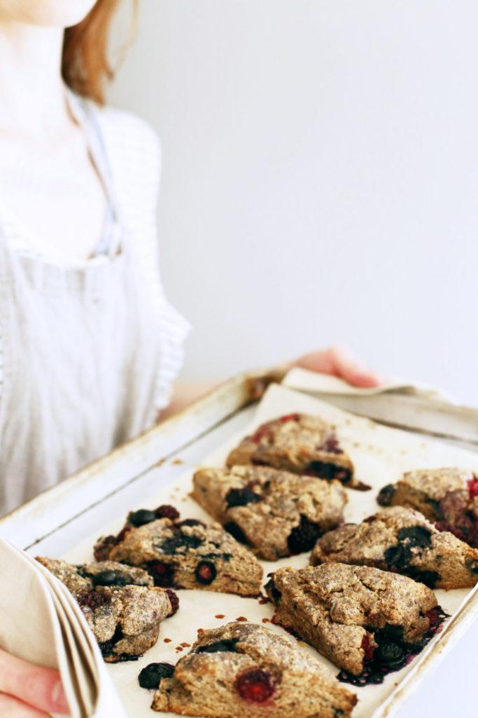 Healthy Whole Grain Scone Recipe