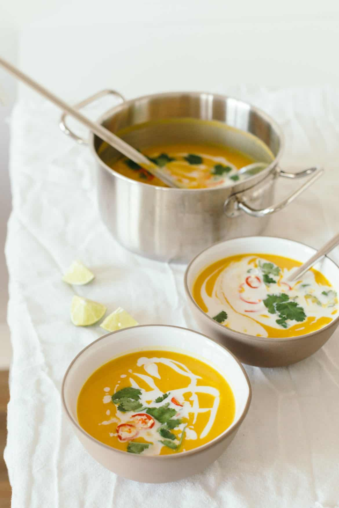 Thai Sweet Potato And Coconut Soup With Red Lentils Recipe