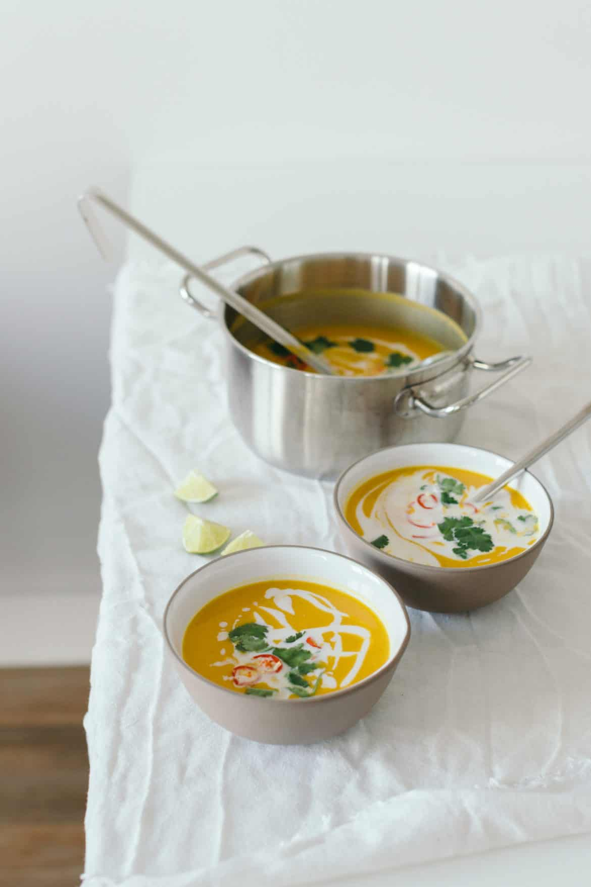 how to make sweet potato soup with coconut milk