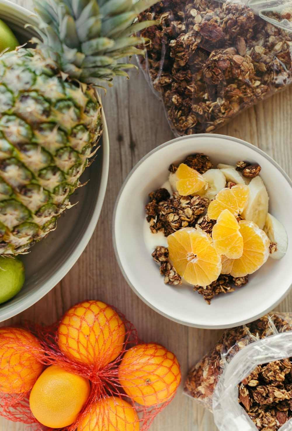 Honey, Almond, & Chia Cluster Granola