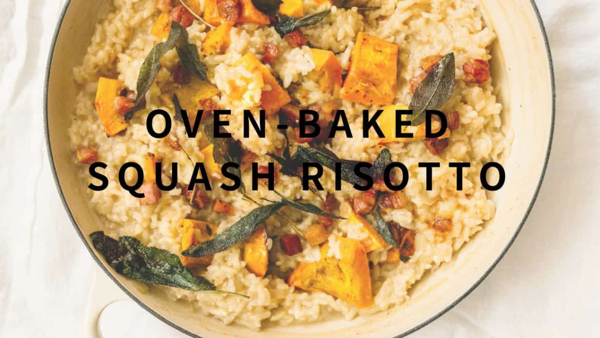 how to make oven baked risotto with squash