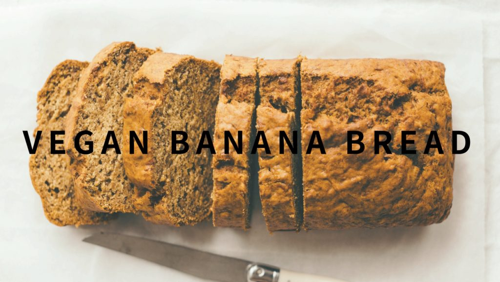 moist vegan banana bread recipe-easy and healthy