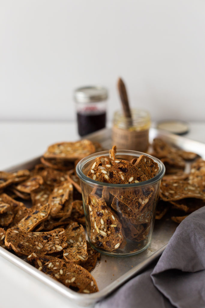 Homemade Fruit and Nut Crisps Recipe