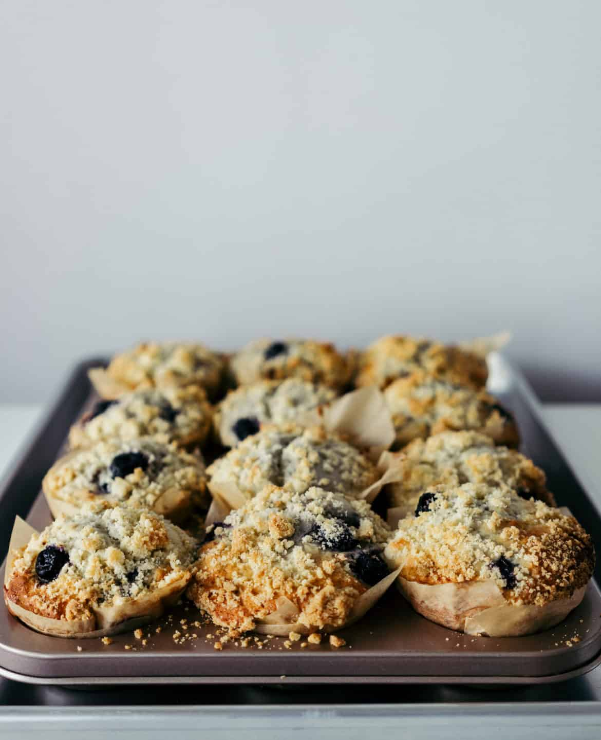 Ottolenghi Blueberry Crumble Muffin Recipe